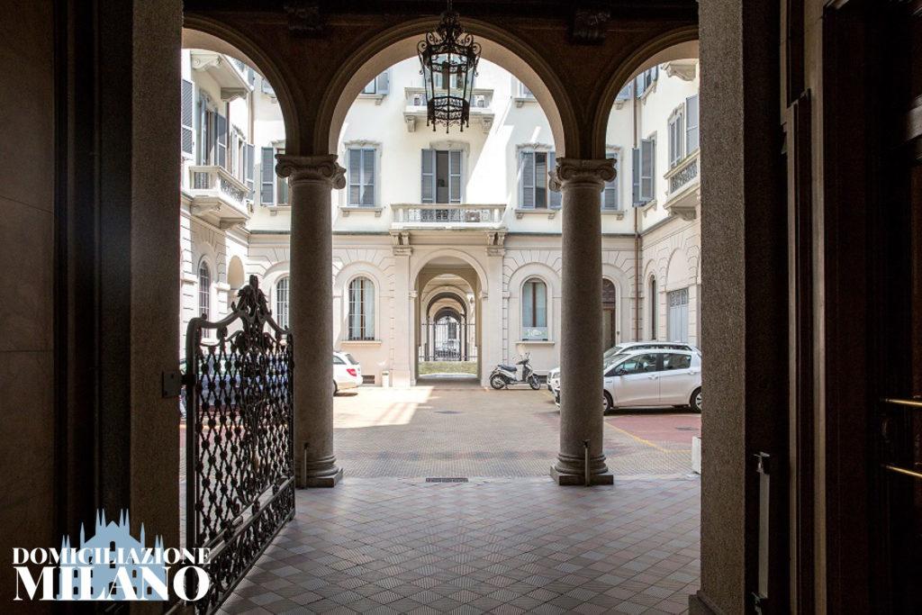 androne palazzo milano