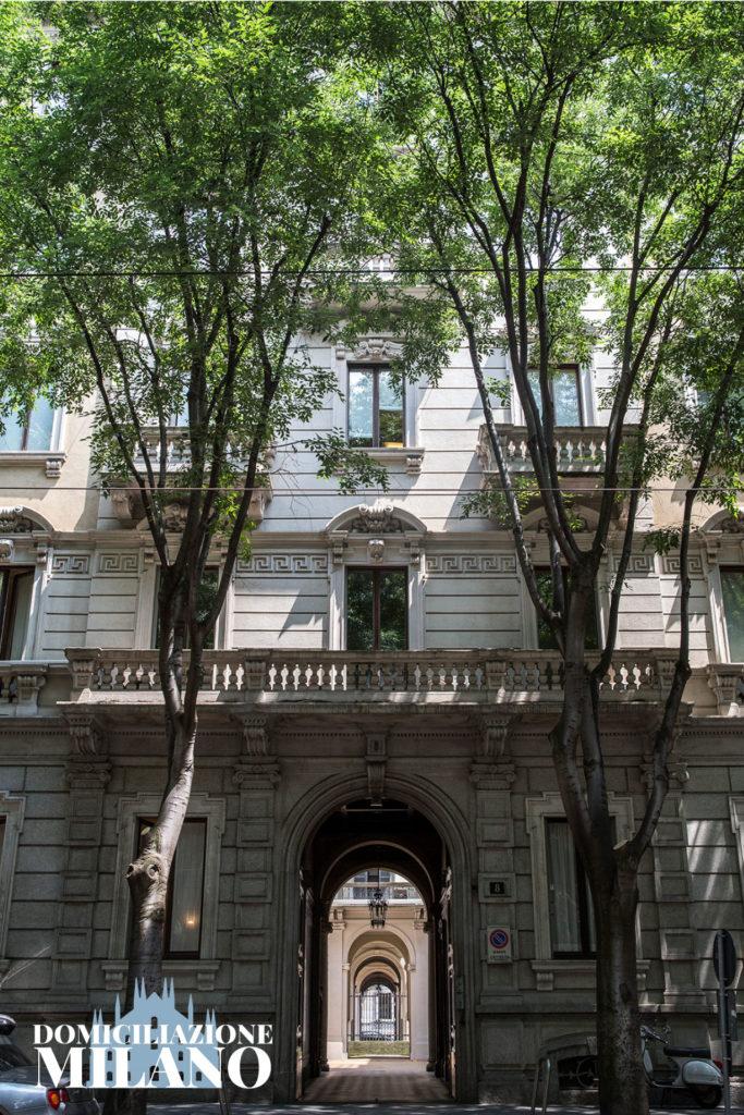 facciata palazzo milano cadorna domiciliazione