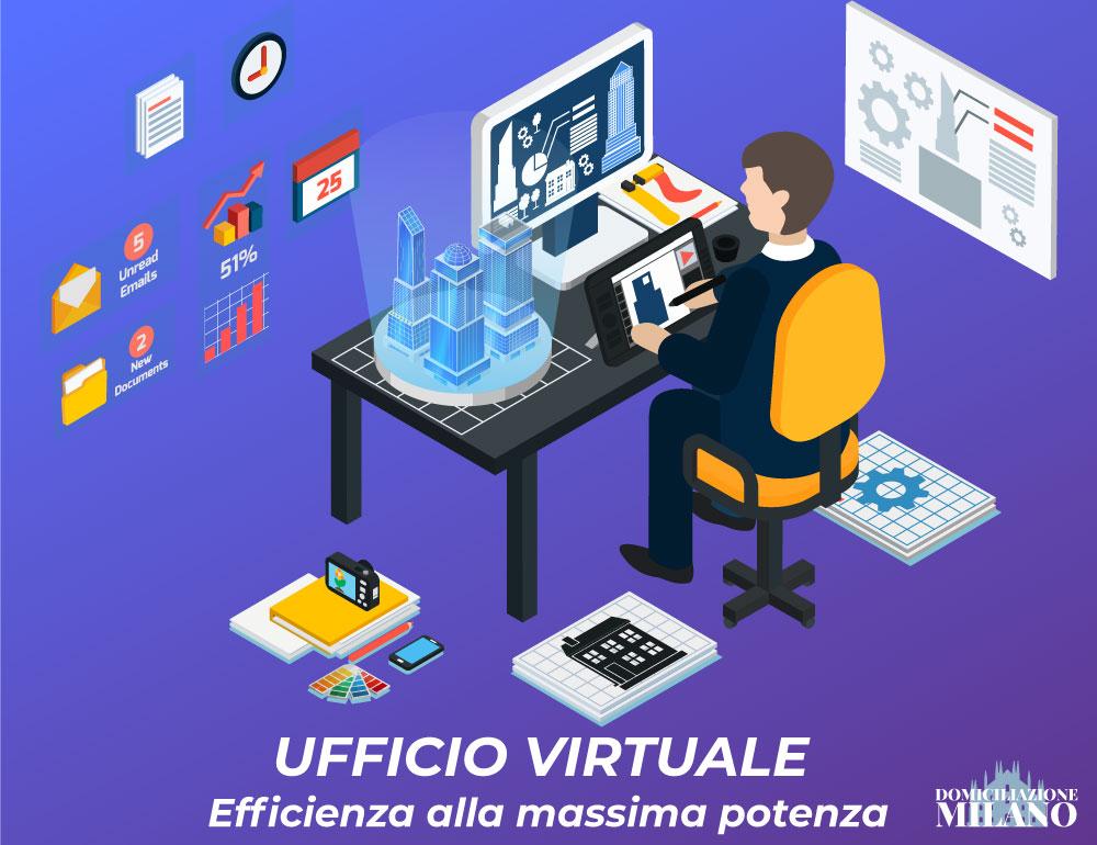 Ufficio virtuale efficiente per produrre di più